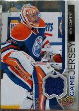 BEN SCRIVENS 2014-15 Upper Deck Hockey Game Jersey