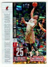 2017-18 Panini Contenders Numbers Game Cracked Ice #32 Hassan Whiteside 09/25