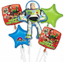 Toy Story Party Supplies 5 FOIL BALLOON BOUQUET Helium Anagram Genuine Licensed