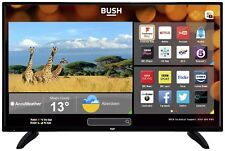 Bush 40 Inch Full HD 1080p Freeview Play Smart WiFi LED TV - Black