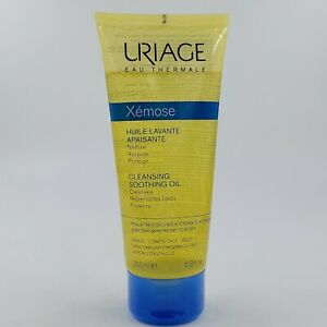 Uriage Xemose Cleansing Soothing Oil Replenishes Lipids Protects Cleanses 200ml