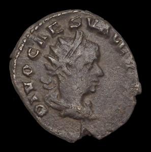 Valerian II Caesar, AD 258-260. Silver Antoninianus, Eagle