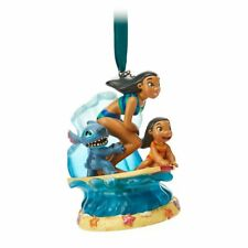 Disney Authentic Lilo & Stitch Musical Singing Sketchbook Ornament Figure New