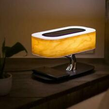 AuraDec Tree of Light - Bedside Lamp w/ Built-in Speaker, Wireless Phone Charge