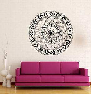 Vinyl Decal Ornament Circle Mandala Meditation Relaxation Wall Sticker (n878)