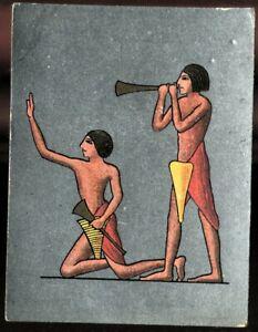 Tobacco Card, Cavanders, ANCIENT EGYPT, 1928, Large, #21