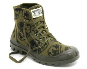 449 Schnürschuhe Scouts Desert Sneaker Pampa High Palladium Pallashock Army 42