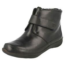 Scarpe da donna neri a strappo tacco basso ( 1,3-3,8 cm )