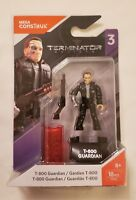 T800 Terminator Figure Genisys Mega Construx Hero Series 3 FXP52 18 Pieces Guard