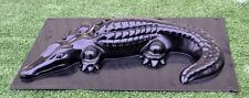 Concrete mold Crocodile decorativ casting cement gator alligator 1pc A06 Small
