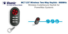VISONIC POWERMAX MCT-237 Due Vie Remoto Allarme senza fili Keyfob 868mHz - 0-2391-A