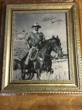 "John Wayne ""The Duke"" Autographed framed picture"
