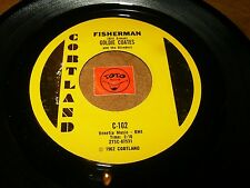 GOLDIE COATES - FISHERMAN - LOVE IS A TREASURE  / LISTEN - GIRL GROUP POPCORN