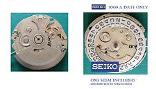 Seiko  Movement 7009A with Stem , Old Stock.