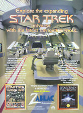 "Star Trek Navigation Tools ""Zablac Entertainment"" 1998 Magazine Advert #4332"