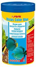 Sera Discus Color Blue  100ml,250ml Color food for all bluish discus fish