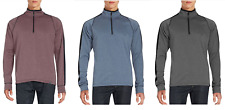 NEW Hawke & Co. Men's 1/4 Zip Pullover Performance Active Sweatshirt - VARIETY