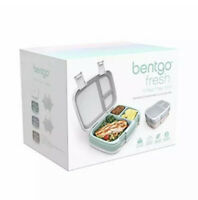 Bentgo Fresh 3-Pack Healthy Meal Prep Lunch Box Set Versatile Lunch Compartments