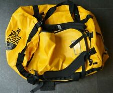 Large The North Face  Base Camp Yellow Duffle Bag