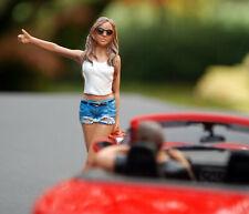 23996 American Diorama Hitchhiker Set of 2 Anhalter 2 Figuren 1:24