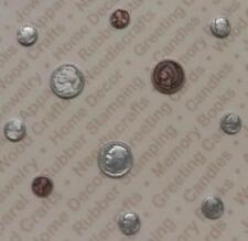 92498           Silver/Copper Plated Asst. Coin Findings / Blister Card x 2