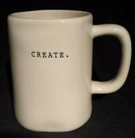 """Create."" Typewriter Font Coffee Mug Cup Artists Makers & Builders by Magenta"