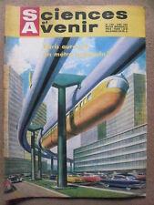 Sciences et Avenir n°158/avril 60 Tremblement de terre d'Agadir. Point d'univers