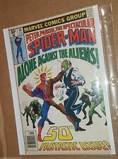 PETER PARKER THE SPECTACULAR SPIDER MAN #50