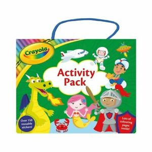 Crayola Shimmer Activity Pack (includes 200 Stickers and 2X Colouring Books)