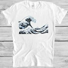 The Great Wave off Kanagawa T Shirt Retro Hipster Unisex Cool Gift Tee 3012