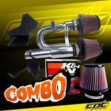 07-10 BMW 335i 3.0L L6 E90/E92/E93 Polish Cold Air Intake + K&N Air Filter