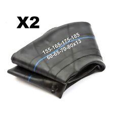 2 Car 13'' Wheel Tyre Inner Tube 155x13 165x13 175x13 185x13 60/65/70/80 Profile