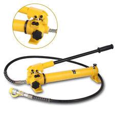 New listing 350Cc 700 bar Manual Hydraulic Pump Hand Pump Oil Pump w/4 foot Hose