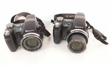 Lot of 2 Sony DSC-H5 Cybershot Digital Still Cameras Photography PARTS & REPAIR