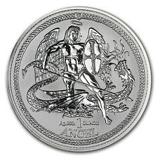 2015 Isle of Man 1 oz Silver Angel Incuse Proof - SKU #132274