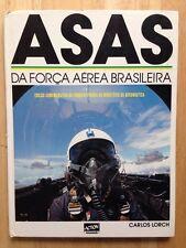 BRAZILIAN AIR FORCE ASAS DA FORCA AEREA BRASILEIRA BOOK, 1988