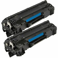 2 Pack Generic CE285A Toner For 85A Laserjet P1102 P1102W M1132 M1212nf M1217nfw