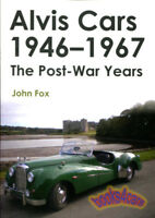 ALVIS BOOK FOX CARS POST WAR YEARS 1946-1967