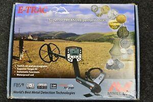 Minelab etrac metal detector