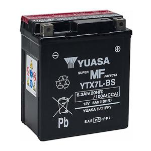 YTX7L BS 12 V 6 Ah Batteria sigillata Yuasa ORIGINALE Honda SH 125 150 2001 2012