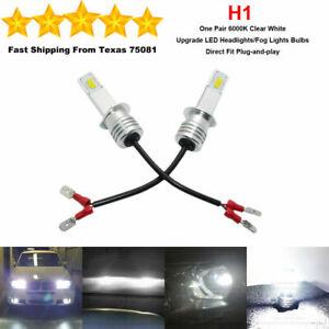 4 x H1 LED Headlight Bulbs Kit High Low Beam Fog Light  Bright 35W 6000K White
