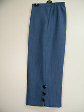 100% POLYESTER CROPPED  TRS  SIDE POCKETS 5 COLS SIZES 10 12 14 16 18 20 22 24