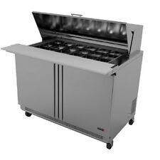 "Fagor Fmt-48-18 48"" Mega Sandwich/Salad Top Refrigerated Counter- 18 Top Pans"