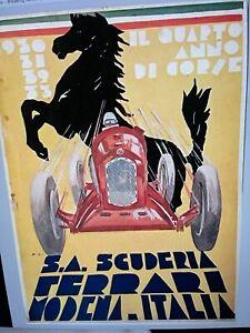 Il Quarto Anno Di Corse, 1933 Scuderia Ferrari Yearbook 2nd Printing