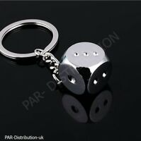 Dice Game Cards Poker Pontoon Key Fob Chain Ring keychain keyring Game Gift UK