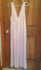 Lorraine Nightgown, Pink, Lacy, Long, Size Medium.Beautiful