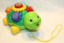 New listing Vtech Roll And Learn Turtle Pull Along Musical Learning Toy