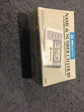 Bell South Caller Id Name and Number. Ci-60 70 Memory Real Time Clock