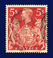 1939 SG477 5s Red Q31 London FS (Foreign Service) CDS Var: Guideline cesy