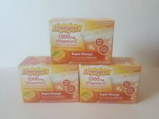 EMERGEN-C Vitamin C 1000mg Lot of 3 BOXES (90 packets 3 month supply)